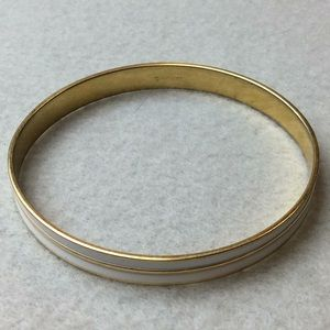 Jewelry - Monet Gold and White Bracelet
